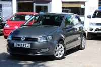 USED 2012 12 VOLKSWAGEN POLO 1.4 85ps Match 5 Door Petrol Hatchback 1 LADY OWNER ** FULL VW HISTORY ** LOW MILEAGE **