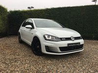 USED 2013 63 VOLKSWAGEN GOLF 2.0 GTD 5d 184 BHP
