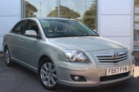 USED 2007 57 TOYOTA AVENSIS 1.8 T3-X VVT-I 4d 127 BHP 1 OWNER. FULL TOYOTA SERVICE