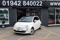 2012 FIAT 500 1.2 LOUNGE 3d 69 BHP £4995.00