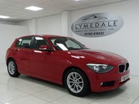 USED 2013 13 BMW 1 SERIES 1.6 116D EFFICIENTDYNAMICS 5d 114 BHP FULL DEALER HISTORY, ZERO TAX, MOT 15.4.19