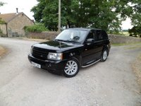 USED 2007 07 LAND ROVER RANGE ROVER SPORT 2.7 TDV6 SPORT S 5d AUTO 188 BHP JUST HAD NEW TIMING BELT. FANTASTIC CONDITION. EXCELLENT HISTORY. SAT NAV. BLUETOOTH. FULL LEATHER