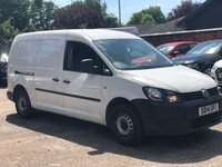 2014 VOLKSWAGEN CADDY MAXI 1.6 C20 TDI STARTLINE BLUEMOTION TECHNOLOGY  £4900.00