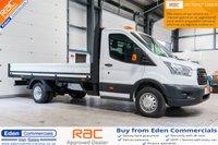 2016 FORD TRANSIT 2.2 350 C/C DRW 1d 124 BHP £15495.00