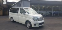 USED 2005 05 NISSAN ELGRAND E51 2.5 ELGRAND HighWay Star. NEWLY CONVERTED TO CAMPERVAN! 2005 05 FRESH IMPORT, LOW MILES,