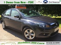 USED 2009 09 FORD FOCUS 1.8 ZETEC 5d 125 BHP 1 Owner From New! [FSH]