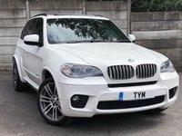 2011 BMW X5 3.0 XDRIVE40D M SPORT 5d AUTO 302 BHP £18495.00