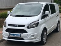 2014 FORD TRANSIT CUSTOM L2H1 290 LWB DOUBLE CAB CREW VAN 2.2 100 BHP