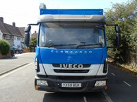 USED 2010 59 IVECO-FORD EUROCARGO 75E16S 3.9 AUTOMATIC 160 BHP 7.5T MOBILE OFFICE IDEAL CAMPER/MOTOR X CONVERSION AIR-CON+WHEELCHAIR LIFT+TOILET