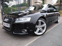 USED 2010 60 AUDI A5 2.0 SPORTBACK TDI S LINE 5d AUTO 141 BHP *** FINANCE & PART EXCHANGE WELCOME *** DIESEL AUTOMATIC FULL BLACK LEATHER HEATED SEATS PARKING SENSORS BLUETOOTH PHONE AIR/CON CRUISE CONTROL