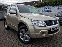 2011 SUZUKI GRAND VITARA 1.6 SZ4 3d 106 BHP £5900.00