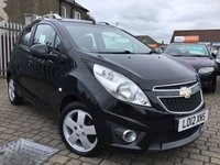 USED 2012 12 CHEVROLET SPARK 1.2 LT 5d 80 BHP PRICE INCLUDES A 6 MONTH RAC WARRANTY, 1 YEARS MOT WITH 12 MONTHS FREE BREAKDOWN COVER