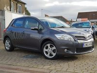 USED 2010 60 TOYOTA AURIS 1.3 TR VVT-I 5d 101 BHP PRICE INCLUDES A 6 MONTH RAC WARRANTY, 1 YEARS MOT WITH 12 MONTHS FREE BREAKDOWN COVER