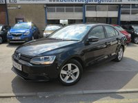 2014 VOLKSWAGEN JETTA 1.6 SE TDI BLUEMOTION TECHNOLOGY 4d 104 BHP £8995.00
