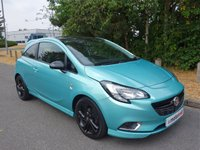 2016 VAUXHALL CORSA 1.2 LIMITED EDITION 3d 69 BHP £6990.00