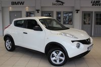USED 2013 13 NISSAN JUKE 1.5 VISIA DCI 5d 110 BHP FULL SERVICE HISTORY + 16 INCH ALLOYS + AIR CONDITIONING + ELECTRIC WINDOWS + LOW RUNNING COSTS + UP TO 62MPG