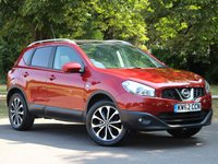 USED 2013 62 NISSAN QASHQAI 1.6 N-TEC PLUS 5d 117 BHP £182 PCM With £949 Deposit