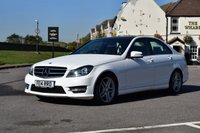 USED 2014 14 MERCEDES-BENZ C CLASS 2.1 C250 CDI AMG SPORT EDITION PREMIUM PLUS 4d AUTO 202 BHP