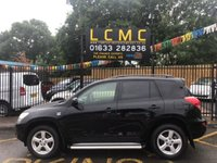 USED 2007 07 TOYOTA RAV4 2.2 XT-R D-4D 5d 135 BHP STUNNING NOIR BLACK WITH DARK GREY CLOTH UPHOLSTERY. ONLY THREE OWNERS FROM NEW. LONG MOT TILL 2nd JULY 2019. LOADS OF SERVICE RECEIPTS. 4 X 4. AIR CONDITIONING. ELECTRIC WINDOWS. REMOTE CENTRAL LOCKING. ELECTRIC DOOR MIRRORS. PLEASE GOTO www.lowcostmotorcompany.co.uk TO VIEW OVER 120 CARS IN STOCK, SOME OF THE CHEAPEST ON AUTOTRADER.