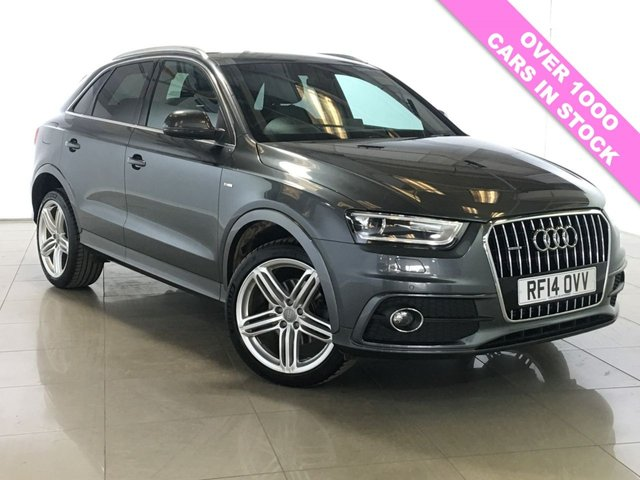 View our 2014 14 AUDI Q3 2.0 TDI QUATTRO S LINE PLUS 5d 177 BHP