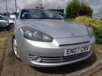 USED 2007 07 HYUNDAI S-COUPE 2.0 SIII 3d 141 BHP **Low Mileage FSH 10 Stamps May 2019 Mot**