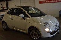 2010 FIAT 500 1.2 LOUNGE 3d 69 BHP £3495.00