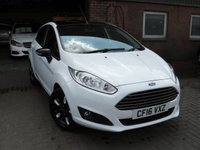 2016 FORD FIESTA 1.0 ZETEC WHITE EDITION AUTUMN 5d 99 BHP £7480.00