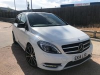 2014 MERCEDES-BENZ B CLASS 1.5 B180 CDI BLUEEFFICIENCY SPORT 5d AUTO 107 BHP £13000.00
