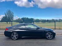 2017 BMW 4 SERIES 2.0 420D M SPORT 2d AUTO 188 BHP £23495.00