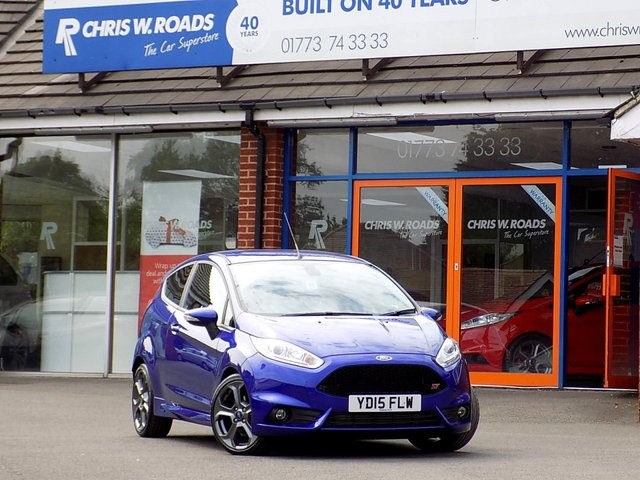 USED 2015 15 FORD FIESTA 1.6 ST-3 3dr (180)  * Sat Nav & Style Pack *
