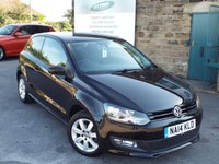 USED 2014 14 VOLKSWAGEN POLO 1.2 MATCH EDITION 3d 59 BHP ONE Owner  FULL Service History