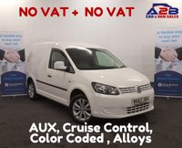USED 2012 62 VOLKSWAGEN CADDY 1.6 C20 TDI BLUEMOTION 102 101 BHP ++ NO VAT ++  Cruise Control, Colour Coded Bodywork, Alloy Wheels, Side Loading Door **Drive Away Today**  01709 866668