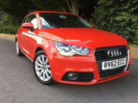 USED 2012 62 AUDI A1 1.6 TDI SPORT 3d 103 BHP * ZERO ROAD TAX*
