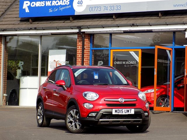 USED 2015 15 FIAT 500X 1.4 MULTIAIR CROSS 5dr (140) *1 Lady Owner + Full Fiat History*