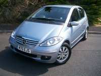 USED 2008 08 MERCEDES-BENZ A CLASS 1.5 A150 ELEGANCE SE 5d AUTO 94 BHP ONLY Two Former Careful Owners, JUST 27,000 Miles with Full Service History, Stunning Pearl Blue Metallic!!!