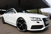 2013 AUDI A7 3.0 TFSI QUATTRO S LINE BLACK EDITION 5d 306 BHP £19990.00