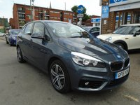 USED 2015 15 BMW 2 SERIES 1.5 218I SPORT ACTIVE TOURER 5d AUTO 134 BHP