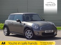 USED 2011 11 MINI HATCH ONE 1.6 ONE 3d AUTO 98 BHP AUTO,LOW MILES,A/C,BLUETOOTH