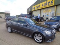 2010 MERCEDES-BENZ C CLASS 2.1 C220 CDI BLUEEFFICIENCY SPORT 4d AUTO 170 BHP £7995.00