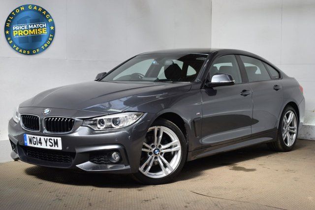 USED 2014 14 BMW 4 SERIES 2.0 420I M SPORT GRAN COUPE 4d 181 BHP COUPE