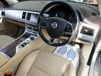 USED 2013 13 JAGUAR XF 2.2 D LUXURY SPORTBRAKE ESTATE AUTO 200 BHP **LEATHER * NAV** ** CAMERA * NAV * LEATHE * FSH **