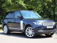 USED 2014 14 LAND ROVER RANGE ROVER 3.0 TDV6 VOGUE 5d AUTO 258 BHP £678 PCM With £3499 Deposit