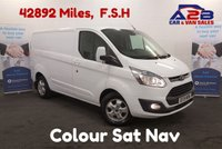USED 2015 15 FORD TRANSIT CUSTOM 2.2 270 LIMITED 125 BHP Sat Nav, Air Con, Factory Fit 150W Power Invertor, Bluetooth Connectivity **Drive Away Today** Over The Phone Low Rate Finance Available, Just Call us on 01709 866668
