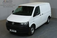 USED 2015 15 VOLKSWAGEN TRANSPORTER 2.0 T28 TDI STARTLINE 102 BHP SWB LOW ROOF ONE OWNER FROM NEW, SERVICE HISTORY