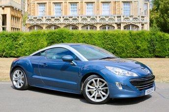 2011 PEUGEOT RCZ 1.6 THP GT 2d 200 BHP £7990.00
