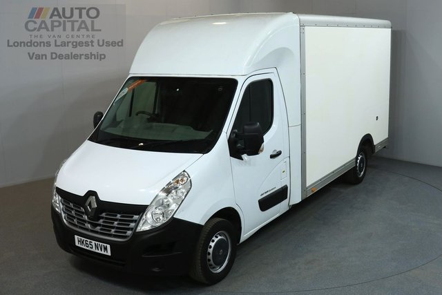 2015 65 RENAULT MASTER 2.3 LL35 BUSINESS 125 BHP L3 LWB LUTON VAN LOLOADER ONE OWNER FROM NEW