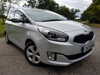 USED 2013 13 KIA CARENS 1.6 2 ECODYNAMICS 5d 7 SEATS & PARKING SENSORS