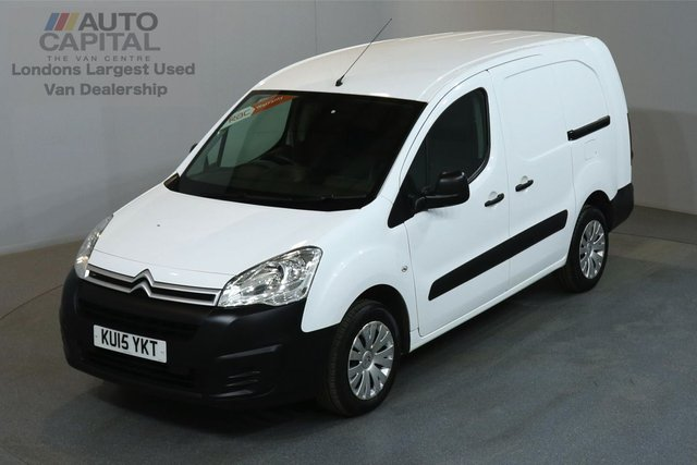 2015 15 CITROEN BERLINGO 1.6 750 LX 89 BHP L2 H1 LWB LOW ROOF ONE OWNER FROM NEW