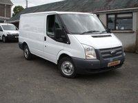 2013 FORD TRANSIT 2.2 260 SWB LR 100  BHP £5950.00