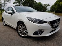 2014 MAZDA MAZDA 3 2.0 SPORT SAT NAV 4d FULL LEATHER £7250.00